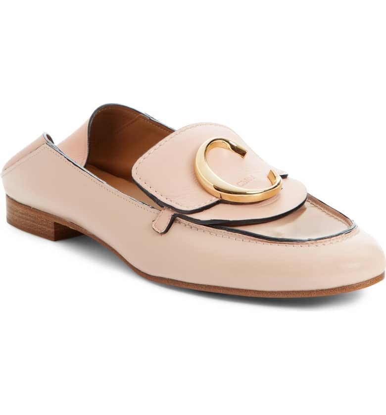 Chloé Story Convertible Loafers