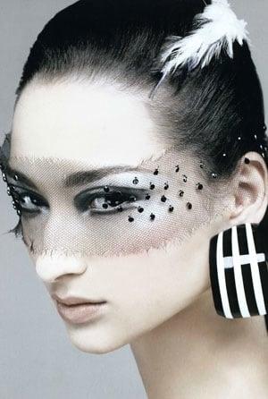 John Galliano Plays Peekaboo with Fall 2008 Dior Couture ...