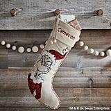 Grinch Sequin Stocking