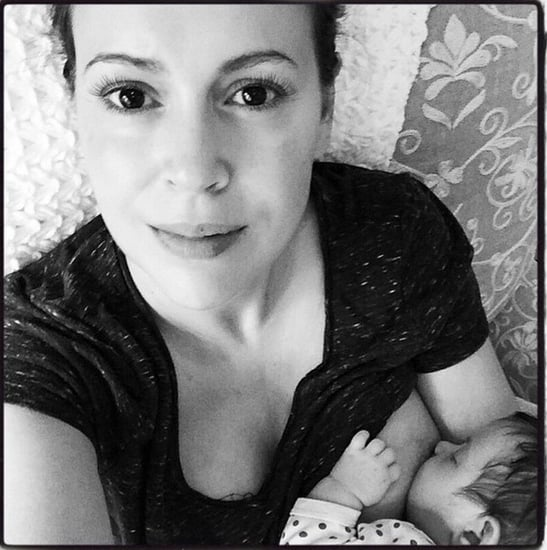 Alyssa Milano's Breastfeeding Picture