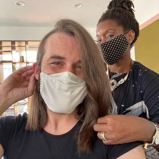 Jonathan Van Ness's Lob Haircut