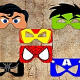 A wedding isn't complete without an appearance by Superhero Masks ($13). Pretty sure that's a rule in etiquette books.