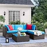 Tuoze 5 Pieces Patio Furniture Sectional Set