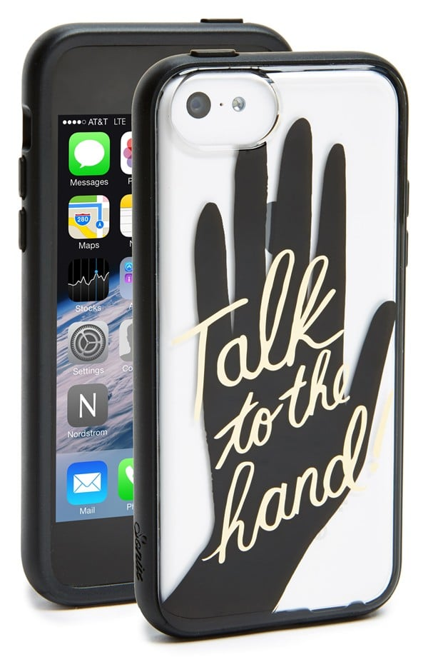 Sonix Talk to the Hand Clear iPhone 5c Case
