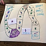 She makes her own board games.