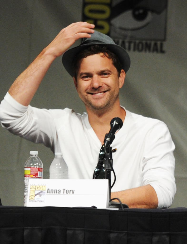 Joshua Jackson spoke at the Fringe panel during Comic-Con in 2012.