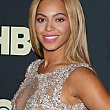 February at the premiere of Beyonce: Life Is But a Dream for HBO.