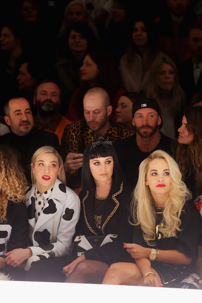 Celebs in the Front Row at Milan Fashion Week Fall 2014
