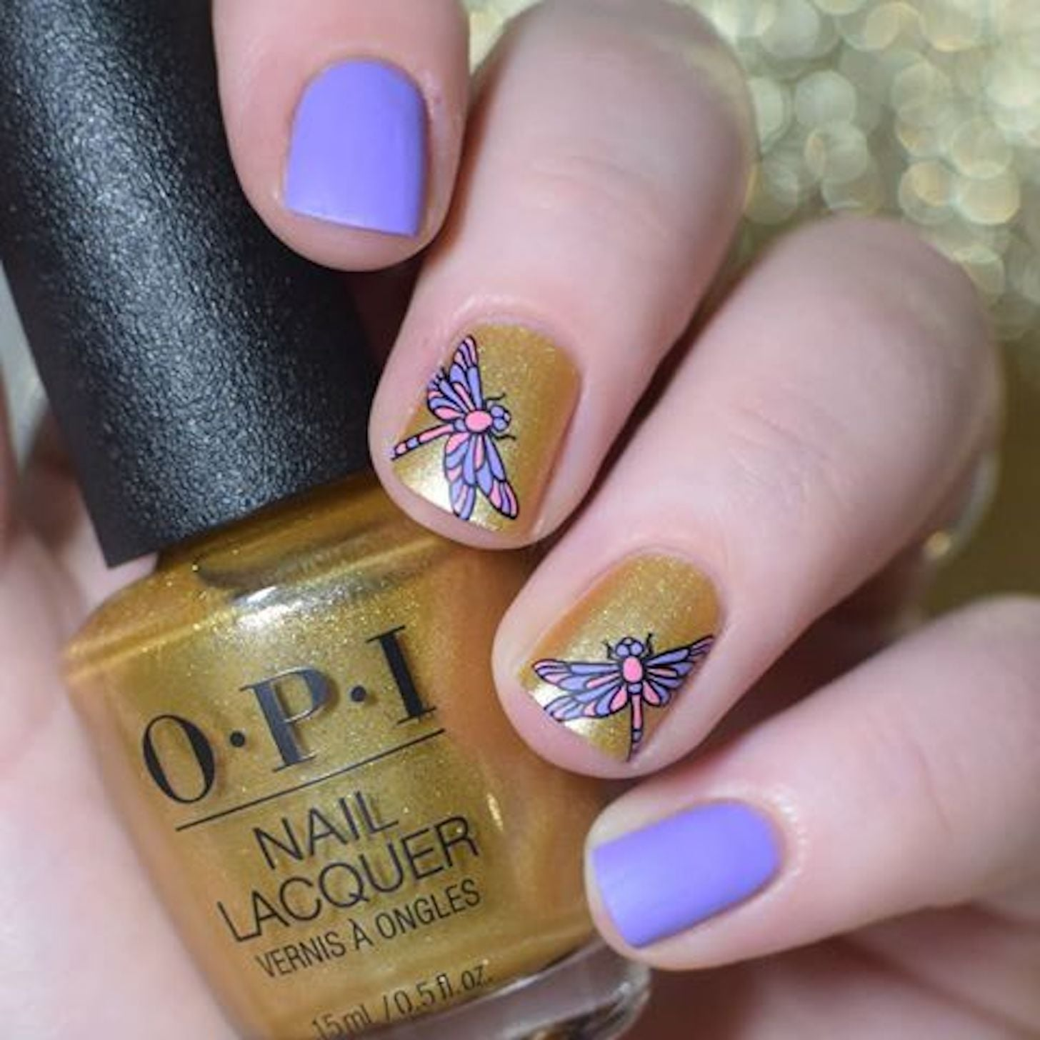 Dragonfly Nail Art Ideas Popsugar Beauty