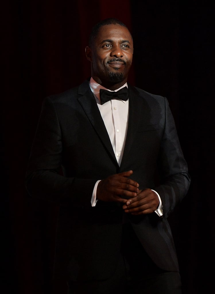 Idris Elba honoured U2, who wrote an original song for his film Mandela: The Long Walk to Freedom.