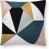 Now House by Jonathan Adler Chain Stitch Fractal Pillow