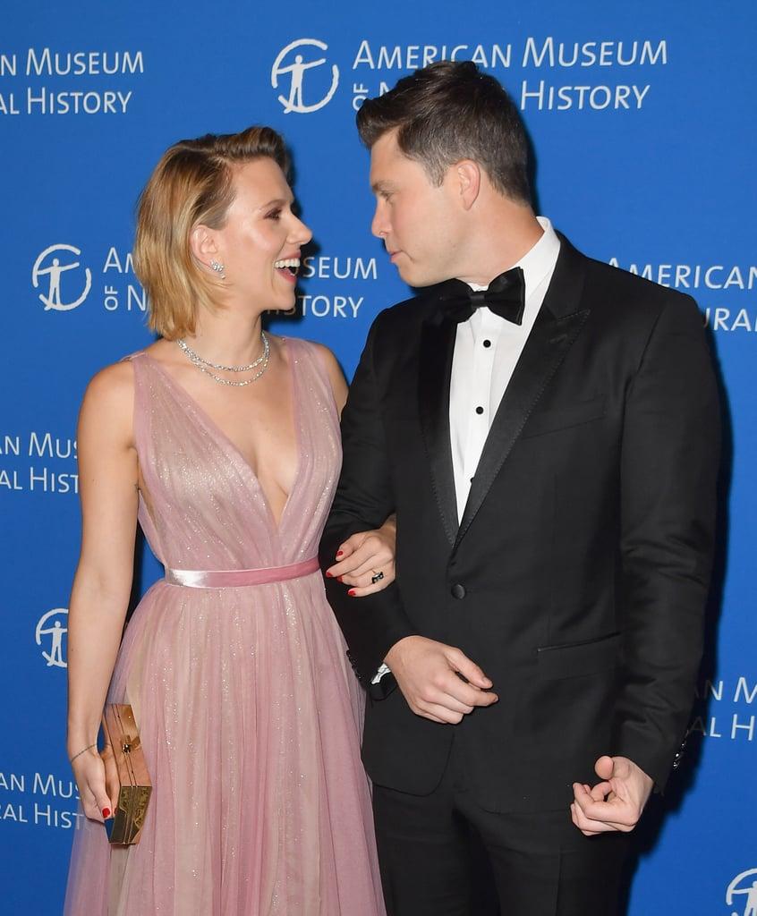 Scarlett Johansson and Colin Jost American Museum Gala 2018