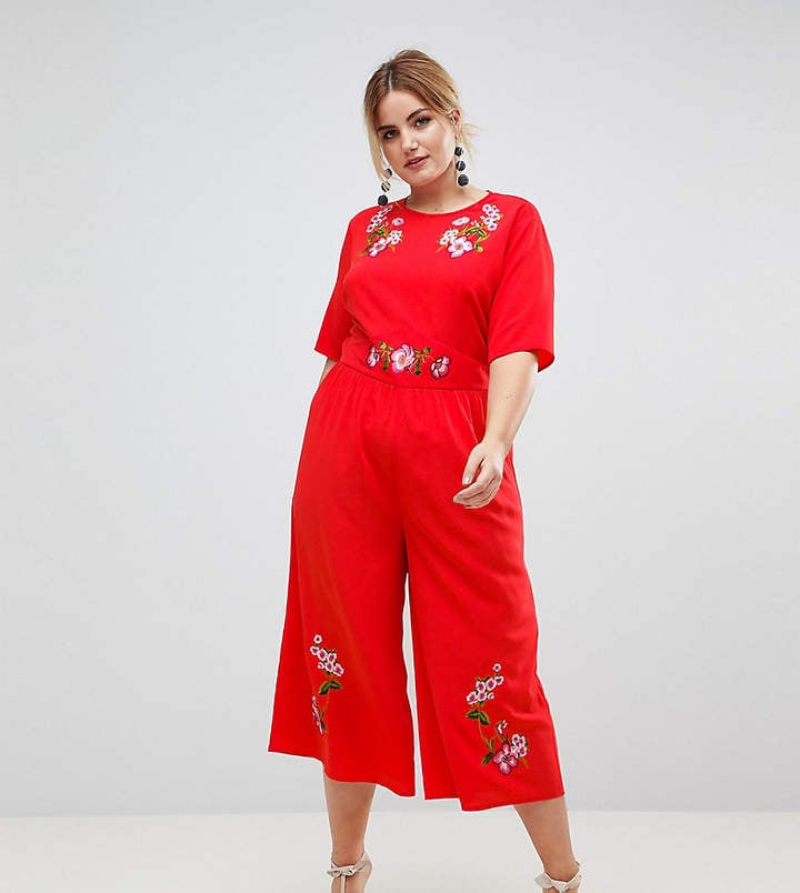 6980724f20ae5 Asos Embroidered Tea Jumpsuit | Wedding Outfits That Aren't Dresses ...