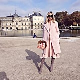 Layers of Pink and Neutral Boots