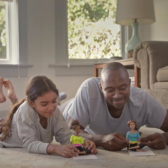Video About Dads Who Play With Barbies
