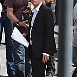 Robert Pattinson Filming Maps to the Stars in LA
