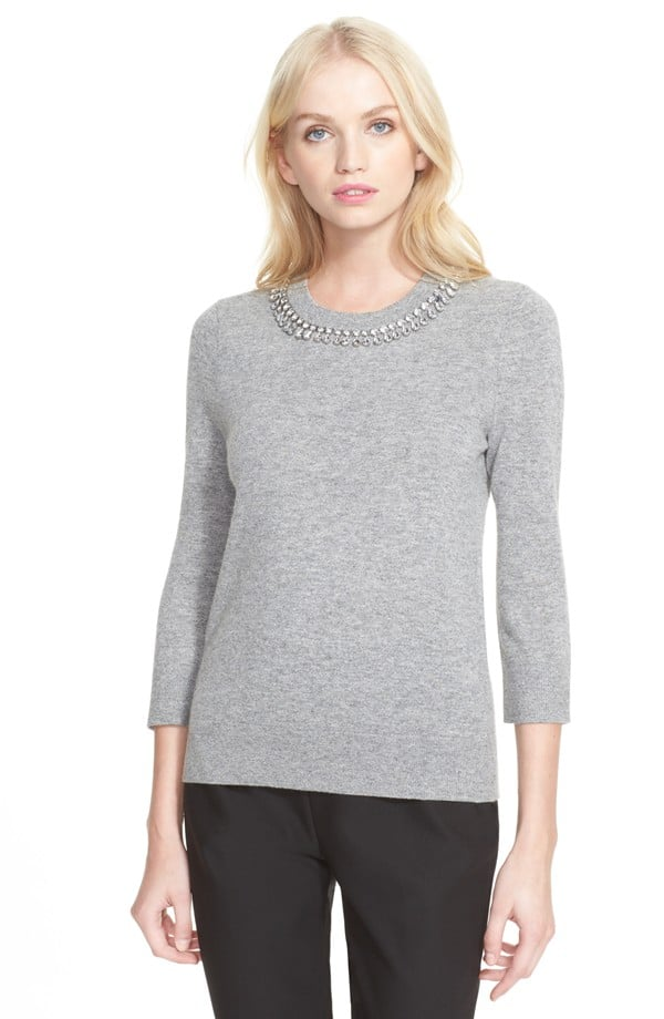 Kate Spade Embellished Collar Pullover ($179, originally $298)
