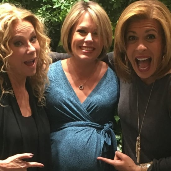 Hoda Kotb Throwback Photo of Pregnant Dylan Dreyer