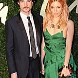 Sienna Miller and Tom Sturridge made for a posh pair at the London event.