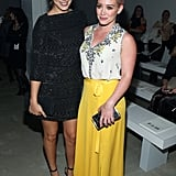 Lorenza Izzo and Hilary Duff