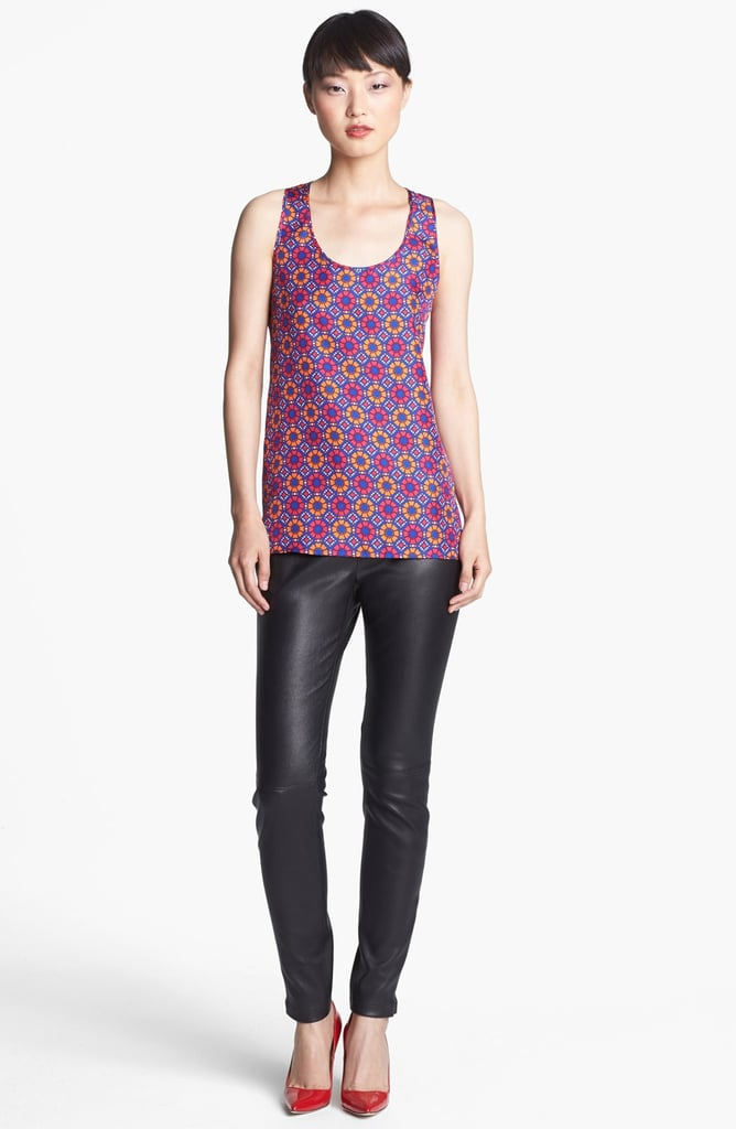 We can totally imagine working the Geo Tile Print Tank ($175) into our transitional outfits during those late Summer days.