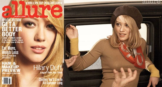 Hilary Duff in May's Allure