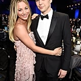 Pictured: Jim Parsons and Kaley Cuoco