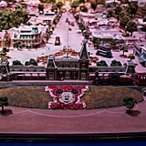 "The model of ""The Disneyland of Walt's Imagination."""