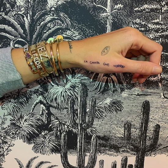 Influencer Chiara Ferragni's Inspiring Hand Tattoo Photos