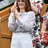 Ruth Wilson at Day 8 of Wimbledon