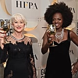 Pictured: Helen Mirren and Viola Davis