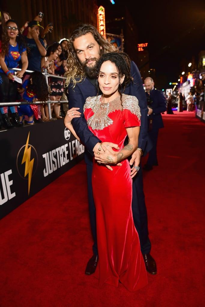 Cute Photos of Jason Momoa and Lisa Bonet