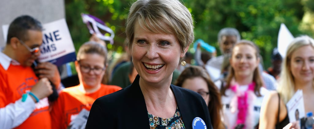 Cynthia Nixon Sex and the City Campaign Merch