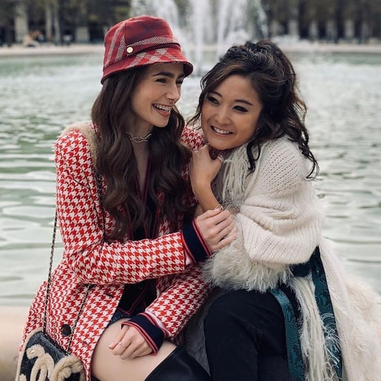 Lily Collins and Ashley Park Friendship Pictures