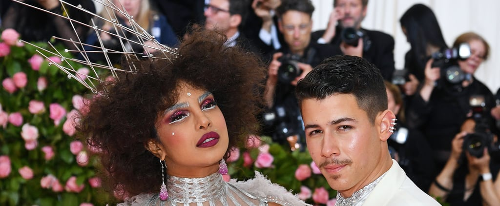Priyanka Chopra Hair and Makeup at Met Gala 2019