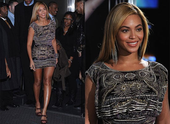 Beyonce Knowles at the Premiere of Her Tour Movie with Parents Tina and Matthew