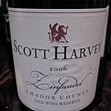 Scott Harvey's 2006 Old Vine Reserve Zinfandel was my favorite wine of the event.