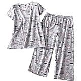 Pnaeong Capri Pants Pajama Set