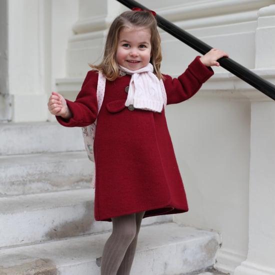 Princess Charlotte's First Day of Nursery School