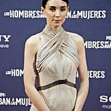 Rooney Mara kept to dressing minimalist-chic in Spain.