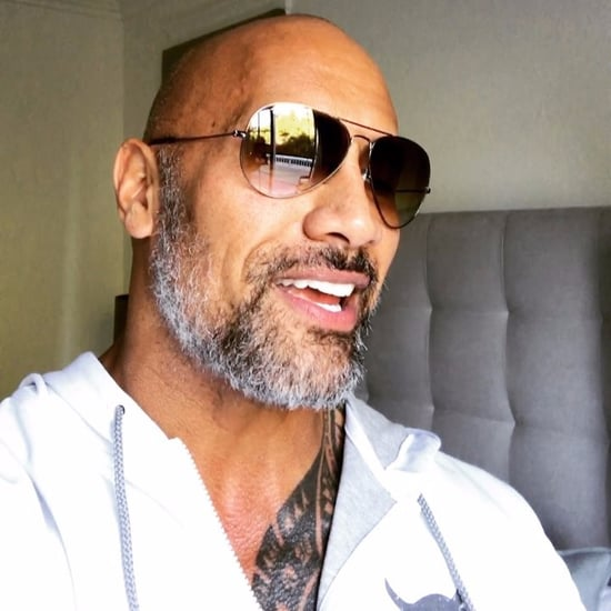 Dwayne Johnson With Beard Pictures