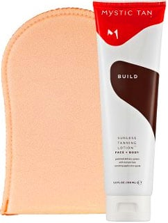 Self-Tanner Review of Mystic Tan and Pictures