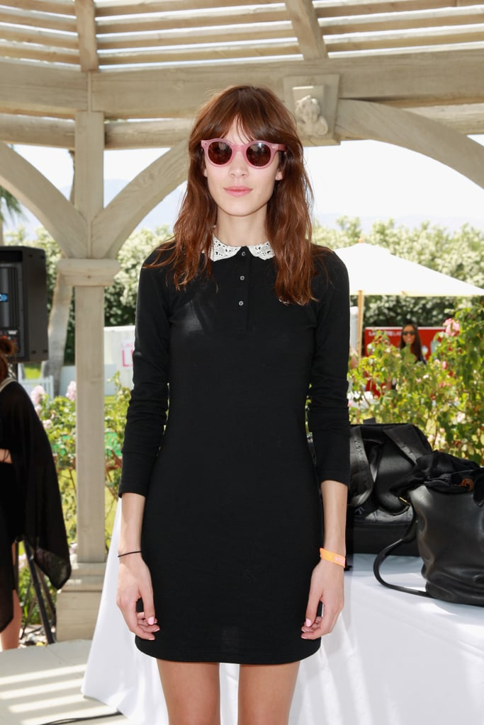 Alexa Chung made the rounds.
