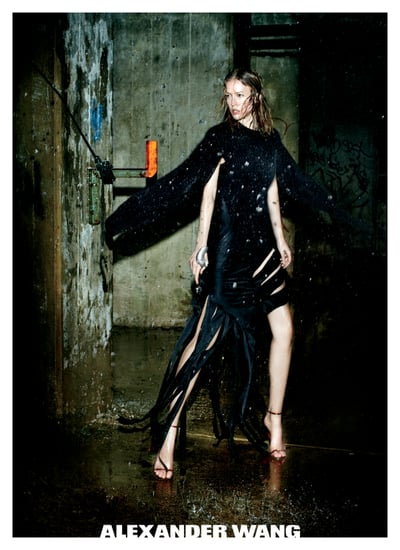Alexander Wang Fall 2011 Ad With Raquel Zimmerman 2011-07-13 10:12:50