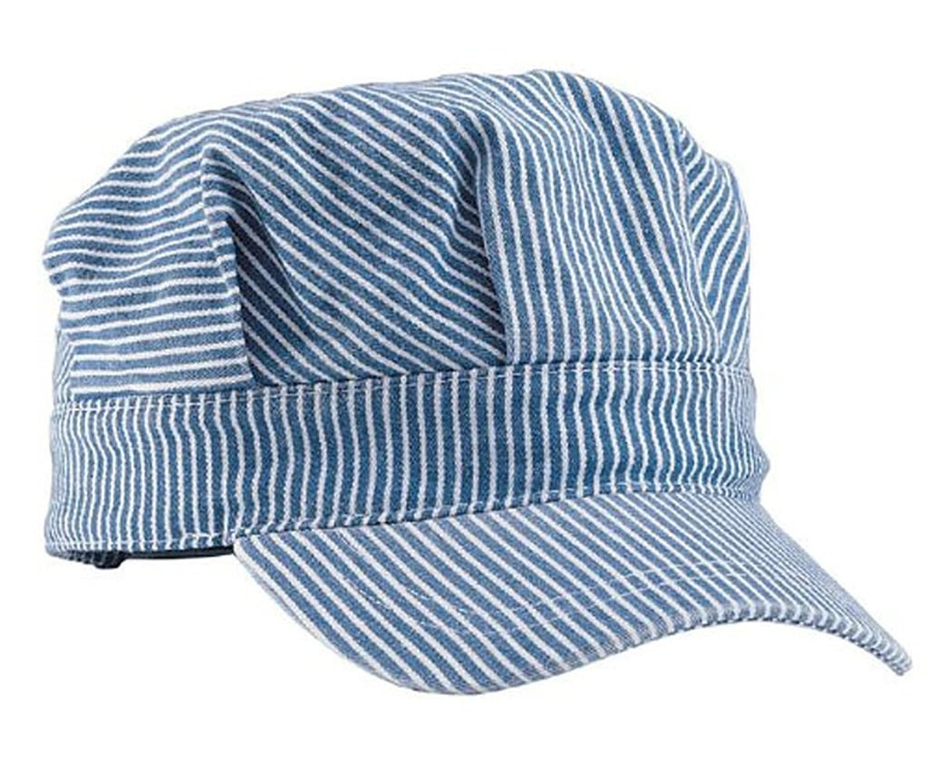 For 1-Year-Olds: Mega Cap Adjustable Train Engineer Hat