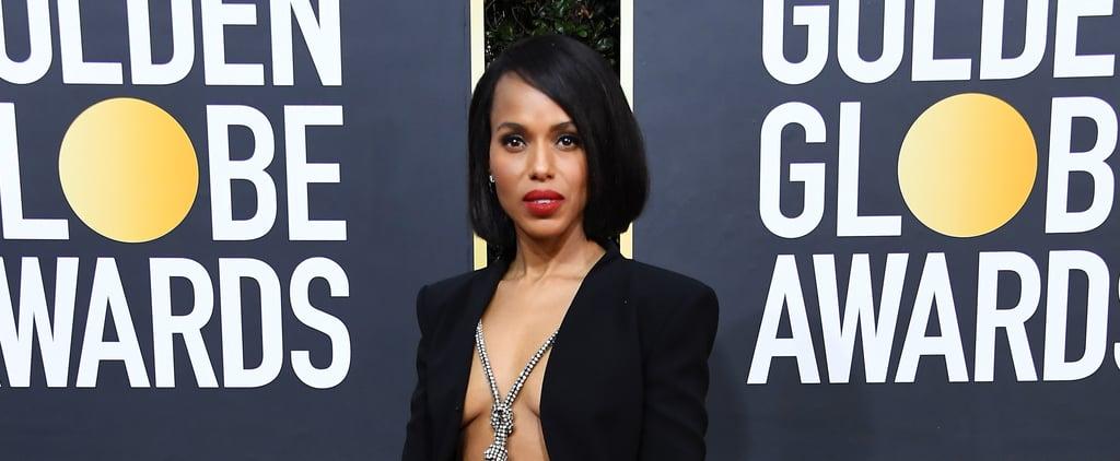 Kerry Washington's Golden Globes Dress 2020