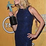 Breaking Bad's Anna Gunn took the outstanding cast performance honors.