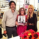 Rachel Zoe and Rodger Berman attended a book signing for Sharon Socol. Source: Instagram user rachelzoe