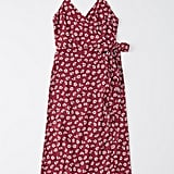 Abercrombie Wrap-Front Midi Cami Dress