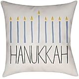 Menorah Throw Pillow ($30)